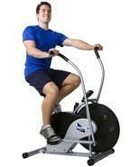 Body Fitness Exercise Bicycle Bike Max Stationary Upright Rider With Coo... - £111.60 GBP