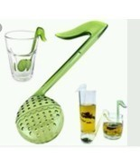 Multifunctional Music Note Loose Tea Strainer Spoon Infuser Filter Sieve... - £3.00 GBP
