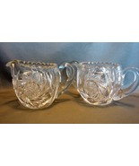 Vintage American Brilliant Crystal Cut Glass Pi... - $31.99