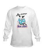 Bud Light Spuds Long Sleeve Beer T Shirt S M L XL 2XL 3XL 4XL 5XL  - $23.99+