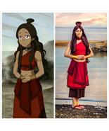 Katara Avatar: The Last Airbender Fire Nation Costume Cartoon Fire Natio... - $99.00
