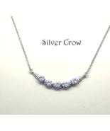 Sterling Silver & Rhinestone Drape Necklace - $14.99