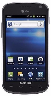Samsung Galaxy Exhilarate SGH-I577 4GB Black AT&T Smartphone