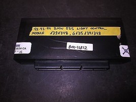 92 93 94 Bmw 525 Light Control Module #1391348,61351391348 *See Item* - $39.60