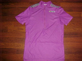Eiesseei Italy Purple Adult Bike Cycling Jersey M 4 - $24.74