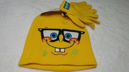 Nickelodeon Sponge bob Hat and Gloves  For Toddler  Size 2 to 4 - $6.99