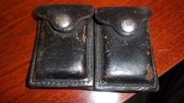 Revolver Ammo Case 1963 Ellis Co., Leather, GUU... - $19.80