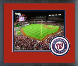 Nationals Park Game 1 of the 2016 NLDS -11x14 Team Logo Matted/Framed Photo  - $43.55