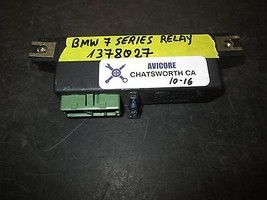 Bmw 7 Series Relay #1378027 *See Item* - $24.74