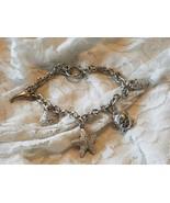 Silver Ocean Charm Bracelet  - $7.50
