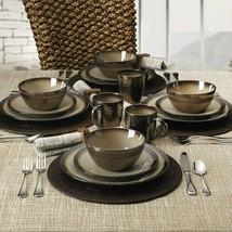 Gourmet Basics Anastasia Cream Dinnerware, Dinner Plates salad Plate, Bo... - $14.99+