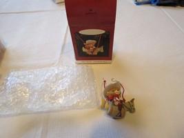 Hallmark ornament keepsake Artists' Favorites Barrel Back Rider Bear hor... - $29.69