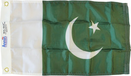 "Pakistan - 12""X18"" Nylon Flag - $21.60"