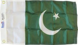 """Pakistan - 12""""X18"""" Nylon Flag - $21.60"""