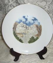 Mt. Rushmore Collectible Souvenir Plate - No Mark  - $12.00