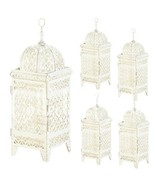 10 Quatrefoil Design Cutout Iron Candle Lanterns Weddings Events Party - $108.97
