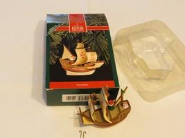 Hallmark ornament keepsake Santa Maria ship Christmas Christopher Columb... - $29.69