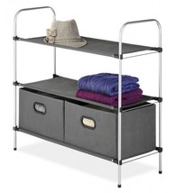 Dorm Room Closet Organizer 2 Shelves College De... - $42.00