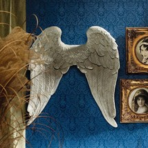 Protection From Above Classic Heaven's Guardian Angel Wings Wall Sculpture - $193.00