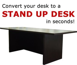 TALL Miracle Desk Portable Dark Red Cocoa - $79.99