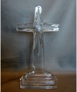 Enchanting Crystal Cut Glass Cross by Towle (8 ... - $15.99
