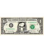 SNOOPY on a REAL Dollar Bill Cash Money Collectible Memorabilia Celebrit... - $102,54 MXN