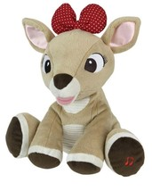 Kids Preferred Rudolph Red-nosed Reindeer Musical Light Up Clarice Plush... - £18.99 GBP