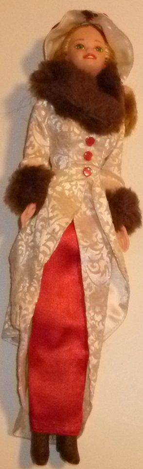 1995 Mattel Hallmark HOLIDAY MEMORIES barbie Doll dressed loose