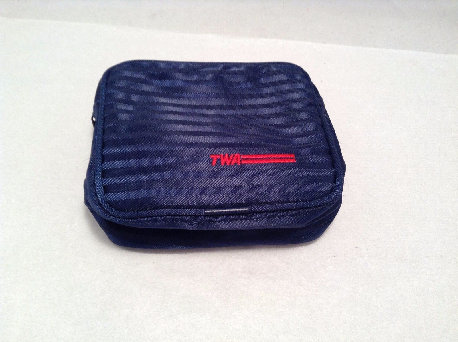 Blue TWA Toiletry Bag Shoehorn Toothbrush Comb Razor Shaving Cream Nail File