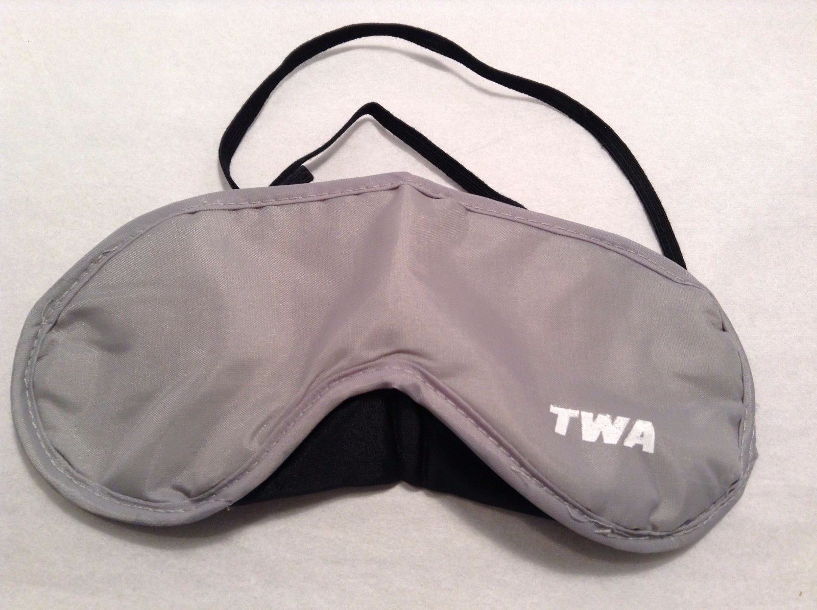 New TWA Eye Mask Elastic Band Back Sleep Mask Gray