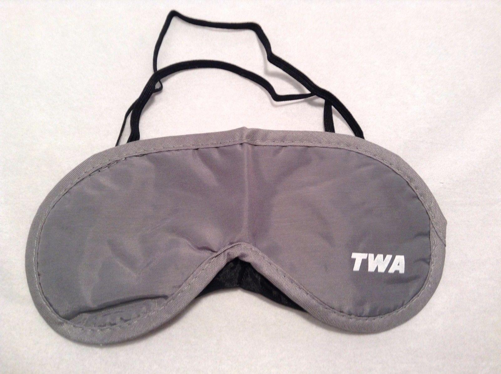 New TWA Eye Mask Elastic Band Back Sleep Mask Dark Gray