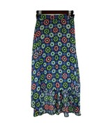 Disney Dsigned Girls Skirt XL 14 16 Blue Black Neon Green Pink High Low ... - $9.99