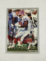 1993 Fleer Football Card #229 Thurman Thomas Buffalo Bills   - $1.49