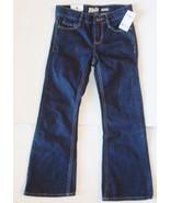 OshKosh B'Gosh Girls Boot Cut Jeans Dark Blue Size 10 NWT - $9.59