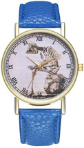 Luxury Watch Women Dress Bracelet Vintage Leather Ladies Watch Fashion W... - $2.48