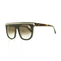 Stella McCartney SC0043S 002 Tortoise Like Silver Chain Women's Sunglasses - $148.50