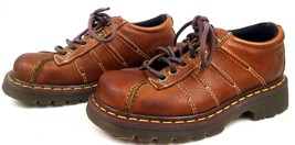 Dr Martens Leather Oxford Shoes 37 Mens 5 Womens 6 Air Cushioned Sole 9764 DM's - $28.94