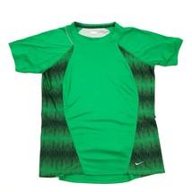 NIKE + Women's Green Running Shirt Dry Fit Size M Medium 8 - 10 Adult Re... - $21.63