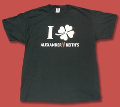 Alexander Keith's Ale, Beer - Clover Leaf St. Patrick's Day T-SHIRT *New* - $9.79
