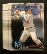 23 - WILL SMITH 2016 Bowman Draft 1st Bowman RC Prospect Los Angeles Dod... - $28.04