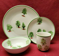 Gibson China - Magical Forest Pattern (Tree) - 4-piece Place Setting - $47.95