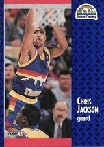 Chris Jackson ~ 1991-92 Fleer #49 ~ Nuggets - $0.05