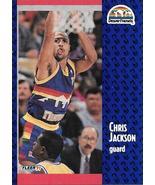 Chris Jackson ~ 1991-92 Fleer #49 ~ Nuggets - $0.05