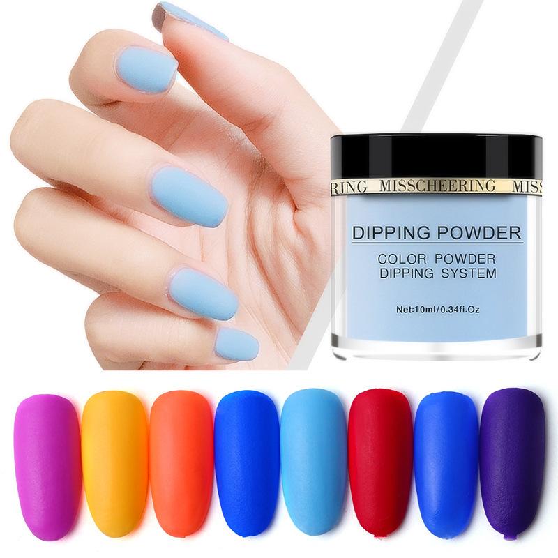 Matte Color Manicure Powder Nail Dipping Powder Nail Art Decorations  15 image 5
