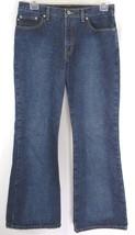 Express Jeans Size 11/12 R Flare Jeans Medium Blue Denim Flare Pants 100% Cotton - $16.33