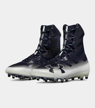 Under Armour Mens Highlight MC Football Cleats Navy 3000177-402 New Size... - $29.69