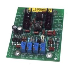 LANTECH 55030403 PC BOARD LOAD CELL AMP ASSEMBLY image 4