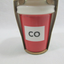 Colorado To Go 2016 Starbucks Cup Ornament Discontinued Red Christmas CO - $21.78