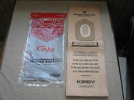 Genuine Kirby Style 2 Vacuum Cleaner Bags - Heritage 1, I, One Vac, OEM ... - $5.17