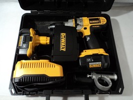 DeWalt 18 Volt Hammerdrill KIT With Case + More - Previously Owned - DC9... - $222.75